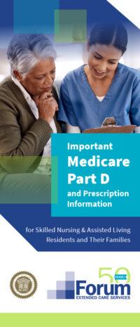 Forum Medicare Part D Brochure Cover